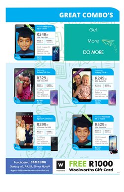 Sony smartphones offers in the Cellucity catalogue in Cape Town