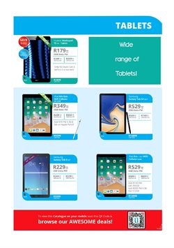 Tablet offers in the Cellucity catalogue in Cape Town