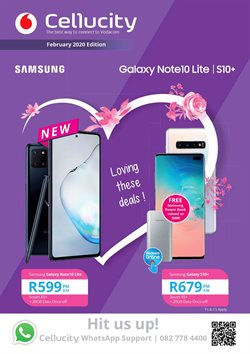 Valentine's Day offers in the Cellucity catalogue ( 3 days left)