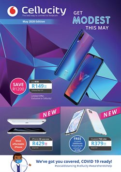 Huawei specials in Cellucity