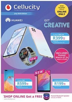 Electronics & Home Appliances offers in the Cellucity catalogue in Cape Town ( 1 day ago )