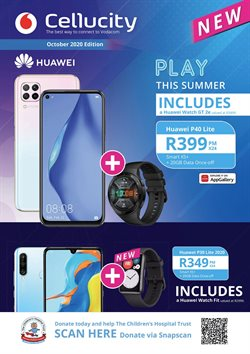 Huawei P30 specials in Cellucity