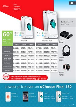 Iphone 7 offers in the Cellucity catalogue in Cape Town