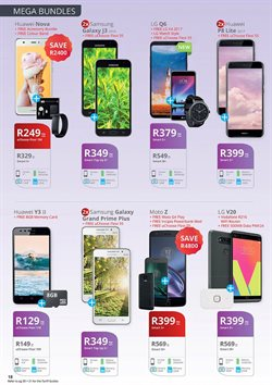 Huawei offers in the Cellucity catalogue in Cape Town