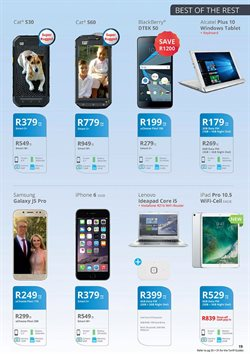 Tablet offers in the Cellucity catalogue in Soweto