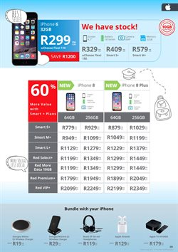 IPhone 8 offers in the Cellucity catalogue in Cape Town