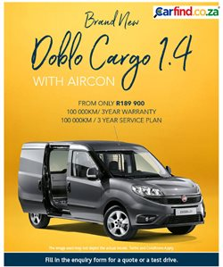 Cars, motorcycles & spares offers in the Carfind catalogue in Cape Town