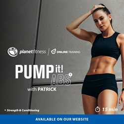 Planet Fitness catalogue ( Expired )