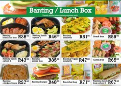 Restaurants offers in the Sandwich Baron catalogue in Cape Town