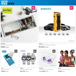 Sport offers in the One Day Only catalogue ( 12 days left)