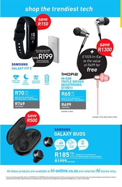 Powerbank specials in Hi