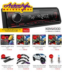 Autostyle deals in the Jeffreys Bay special