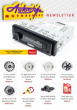Autostyle catalogue ( Expires tomorrow )