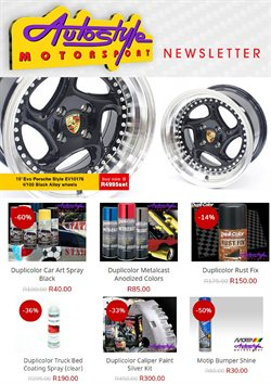 Autostyle catalogue ( Published today )