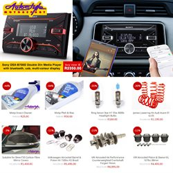 Cars, Motorcycles & Spares offers in the Autostyle catalogue in Polokwane ( 2 days ago )