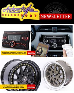 Cars, Motorcycles & Spares offers in the Autostyle catalogue in Cape Town ( 13 days left )