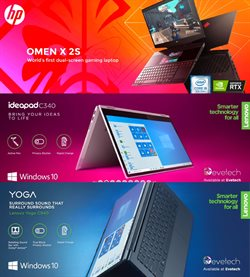 Lenovo specials in Evetech