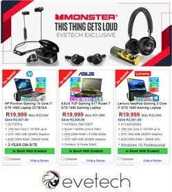 Electronics & Home Appliances offers in the Evetech catalogue in Cape Town ( 19 days left )