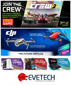 Evetech deals in the Cape Town special