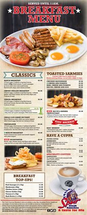 Restaurants offers in the Spur catalogue in Oudtshoorn