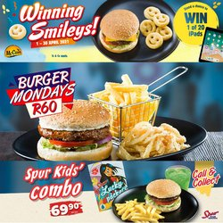 Restaurants offers in the Spur catalogue in Pinetown ( 2 days ago )