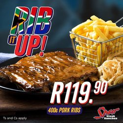 Restaurants offers in the Spur catalogue ( 5 days left)