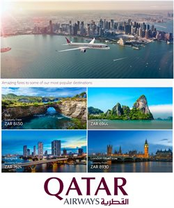 Qatar Airways deals in the Cape Town special