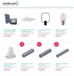 Home & Furniture offers in the Future Light catalogue in Brits ( Expires tomorrow )