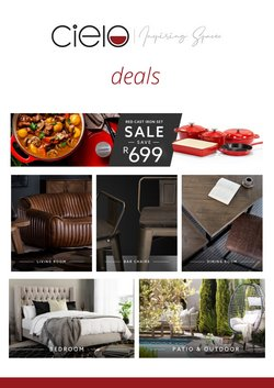 Cielo offers in the Cielo catalogue ( 30 days left)