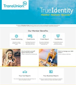 Banks & Insurances offers in the TransUnion catalogue in Cape Town