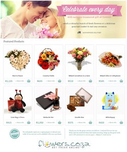 Flowers deals in the Cape Town special