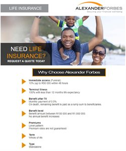 Banks & Insurances offers in the Alexander Forbes catalogue in Cape Town
