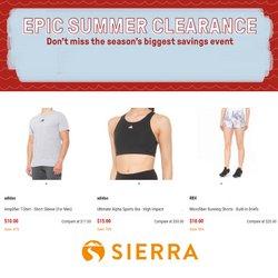 Sierra offers in the Sierra catalogue ( 2 days left)