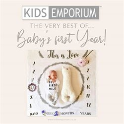 Babies, Kids & Toys offers in the Kids Emporium catalogue in East London