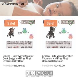 Babies, Kids & Toys offers in the Kids Emporium catalogue ( 26 days left)
