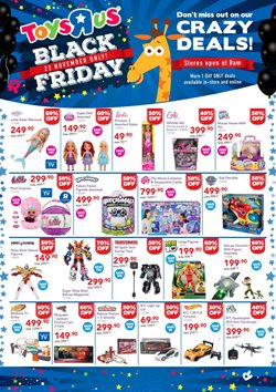 Black Friday offers in the ToysRUs catalogue in Cape Town