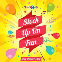 Babies, Kids & Toys offers in the ToysRUs catalogue in Soweto ( 9 days left )