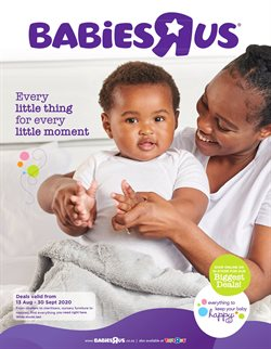Babies, Kids & Toys offers in the ToysRUs catalogue in Durban ( 4 days left )