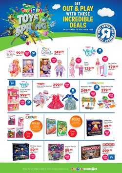 ToysRUs catalogue in Cape Town ( Expired )
