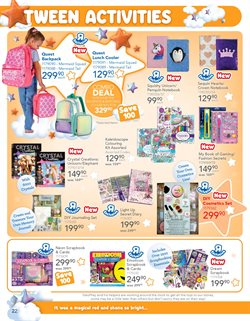 Notebook specials in ToysRUs