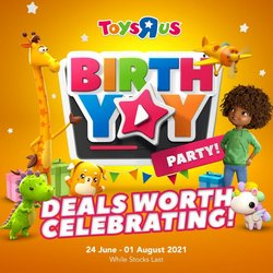 Babies, Kids & Toys offers in the ToysRUs catalogue ( Expires tomorrow)