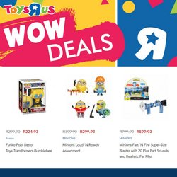 Babies, Kids & Toys offers in the ToysRUs catalogue ( Published today)