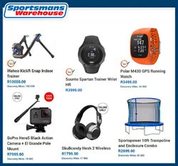 Sportsmans Warehouse deals in the Johannesburg special