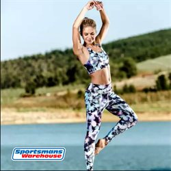 Sportswear offers in the Sportsmans Warehouse catalogue in Cape Town