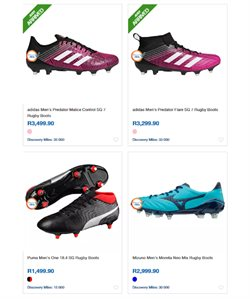 Rugby offers in the Sportsmans Warehouse catalogue in Cape Town