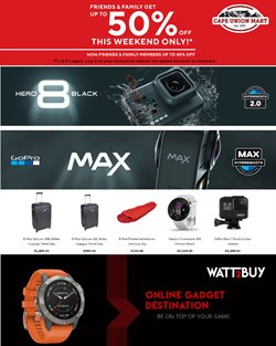 Sport offers in the Cape Union Mart catalogue in Boksburg
