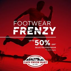 Cape Union Mart catalogue in Durban ( 11 days left )