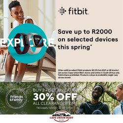 Sport offers in the Cape Union Mart catalogue ( 9 days left)