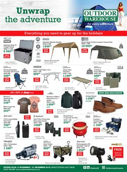 Sport offers in the Outdoor Warehouse catalogue in East London