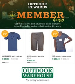 Outdoor Warehouse catalogue ( Expired)